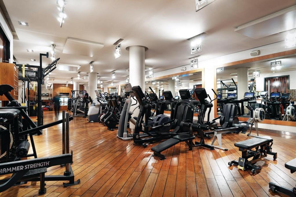 The impressive range of gym equipment at KX, Knightsbridge