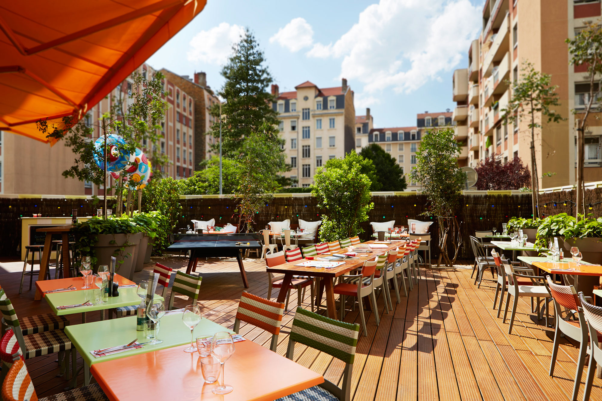 Mama shelter hotel lyon effortless cool for Terrasse lyon