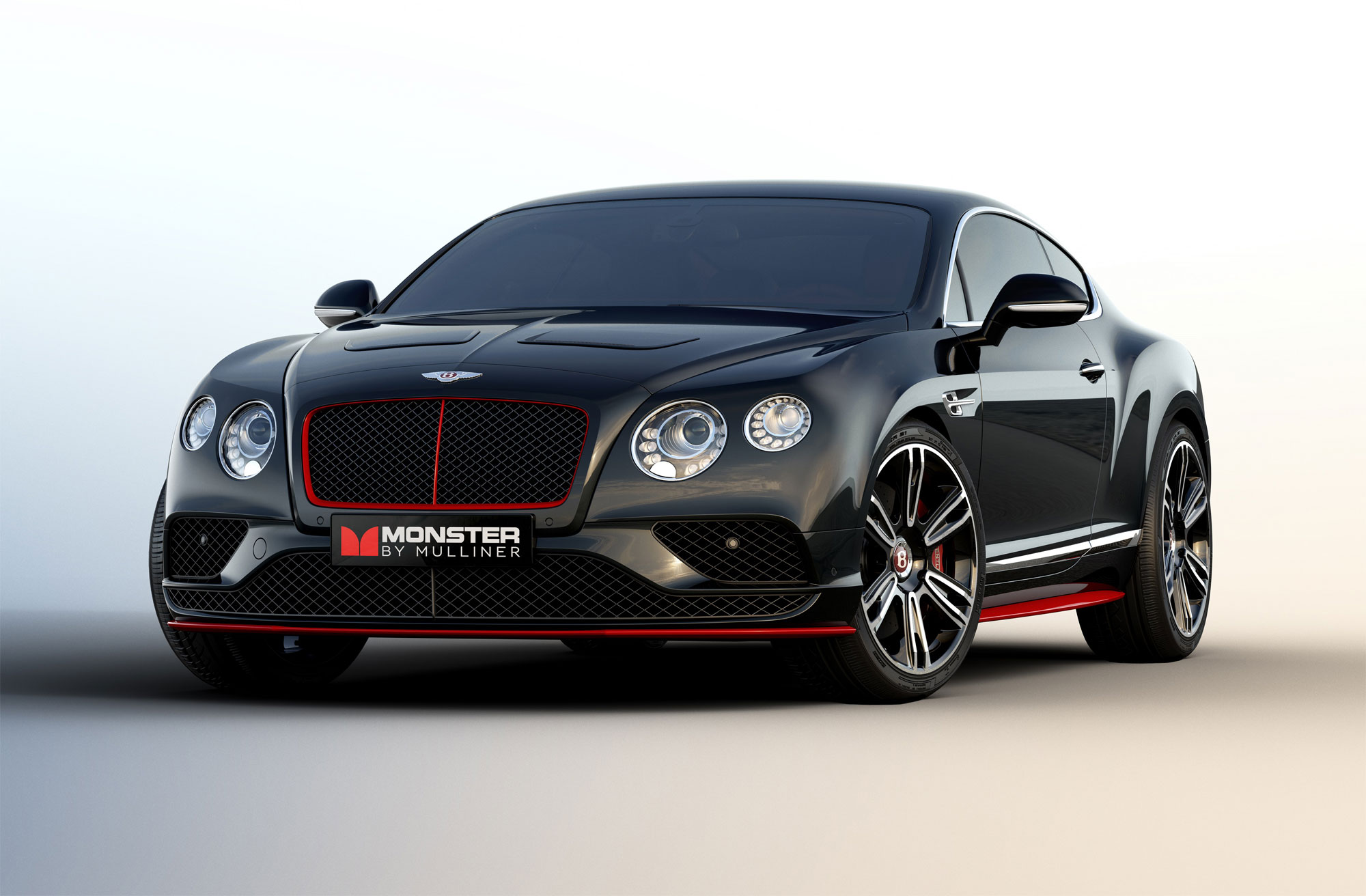 Monster by Mulliner - Handcrafted by Bentley's Mulliner Division and inspired by Monster