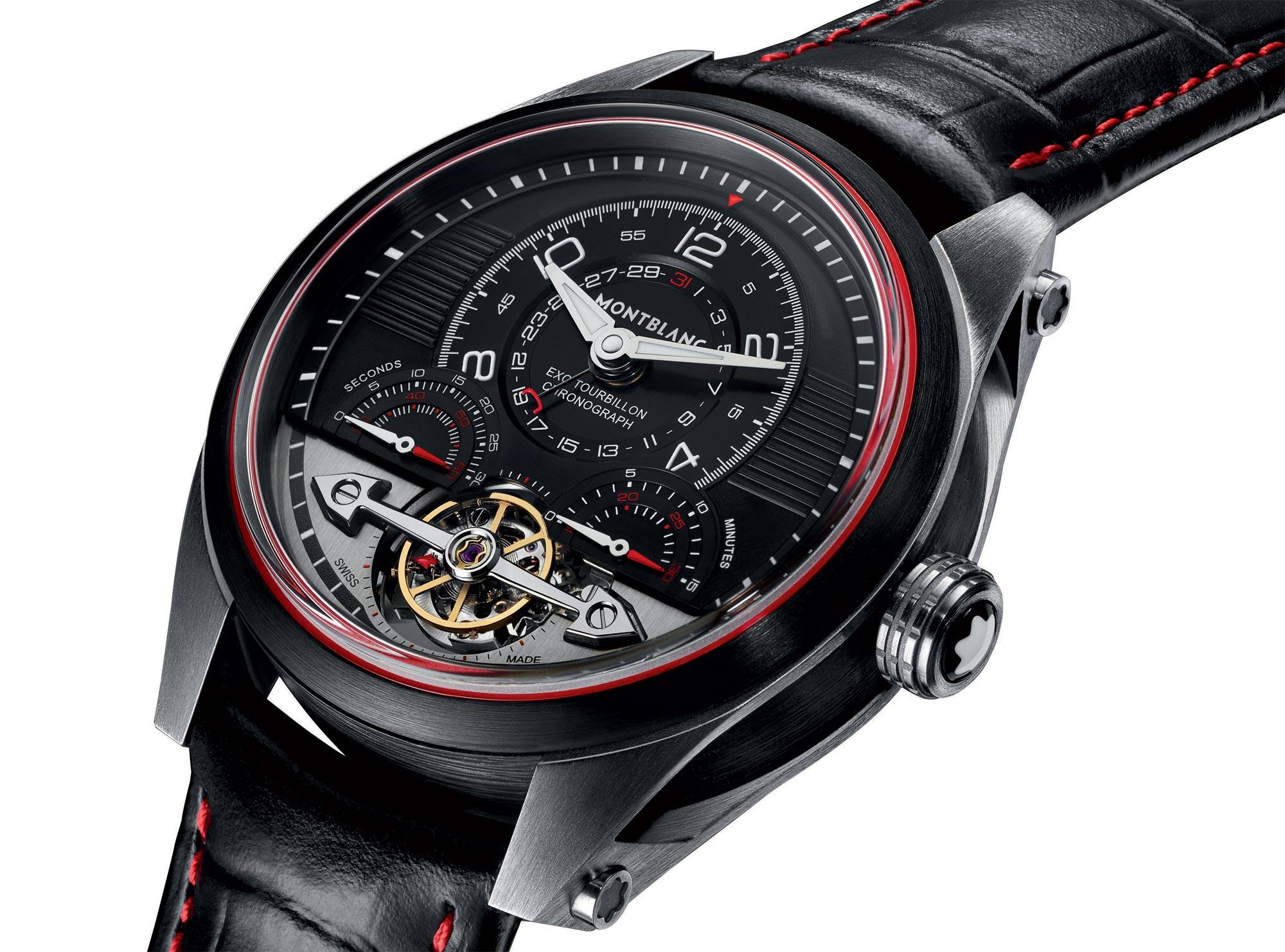 Montblanc Timewalker Exotourbillon Minute Chonograph Limited Edition 100