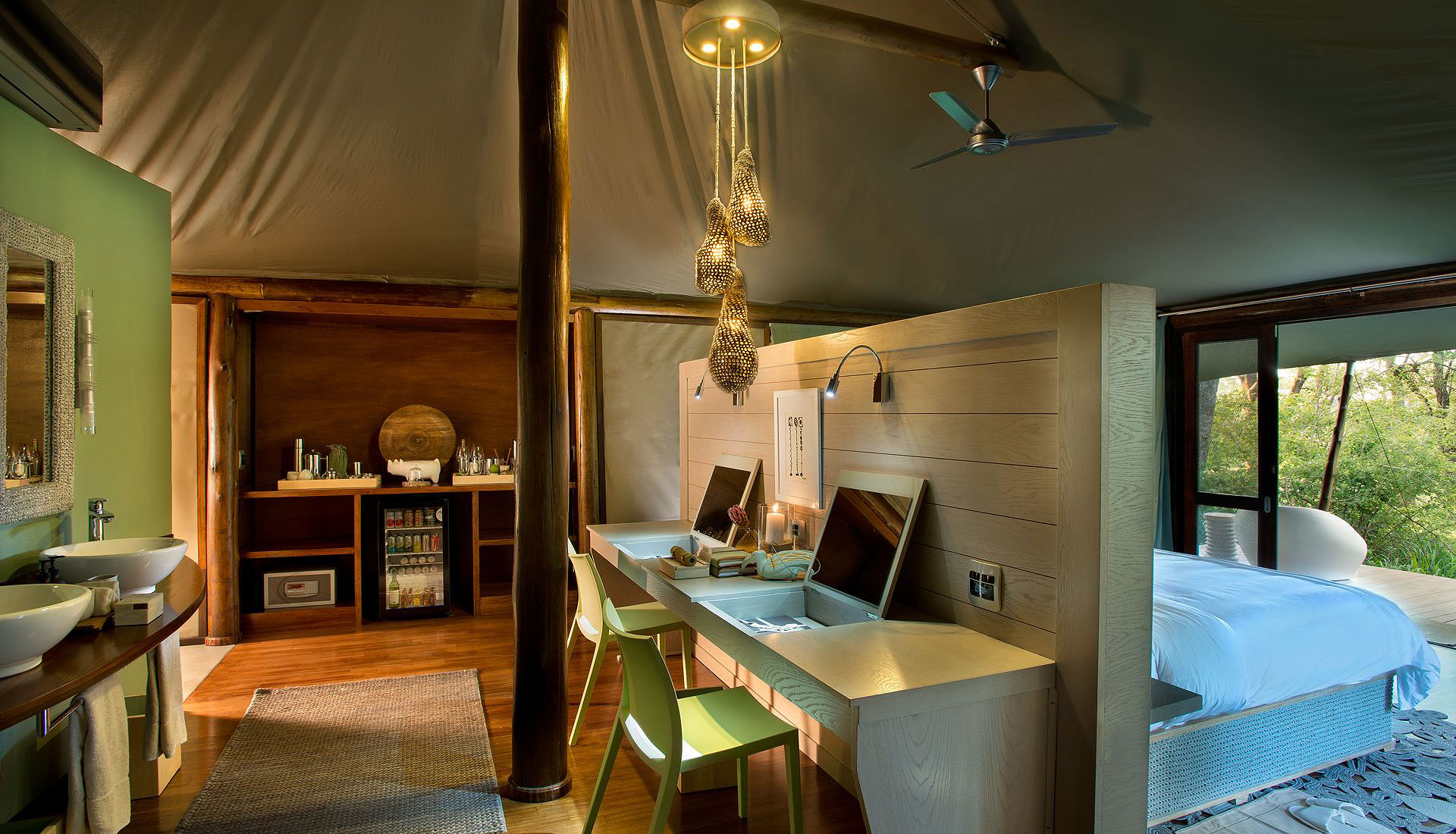 Ngala Tented Camp, Glamping South African Style