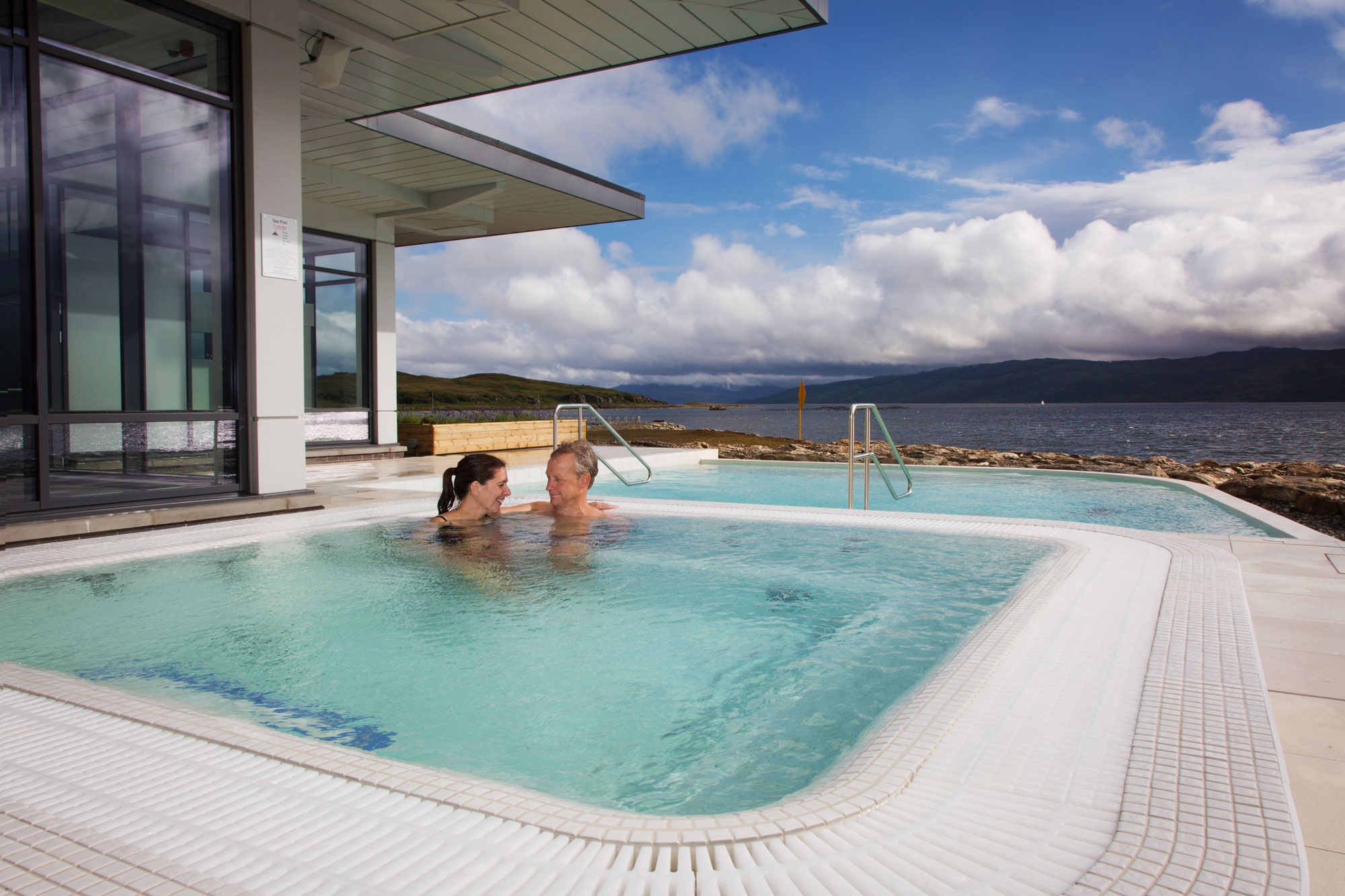 The destination is the reward at scotland s portavadie for Luxury spa weekends for couples