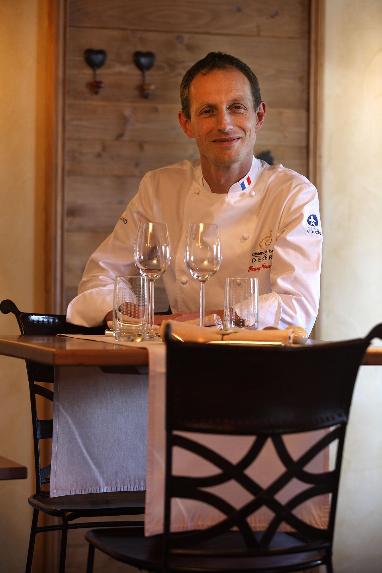 Chef François Moureaux