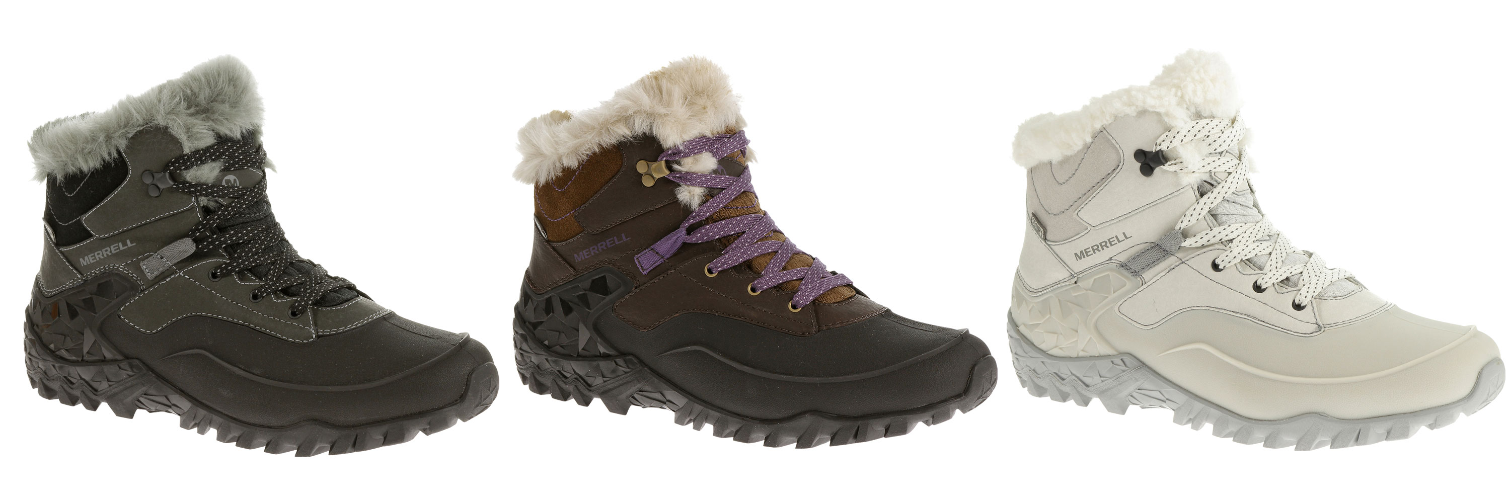 Merrell's Fraxion And Flurocein Shoes Fit For Winter Hikes 6
