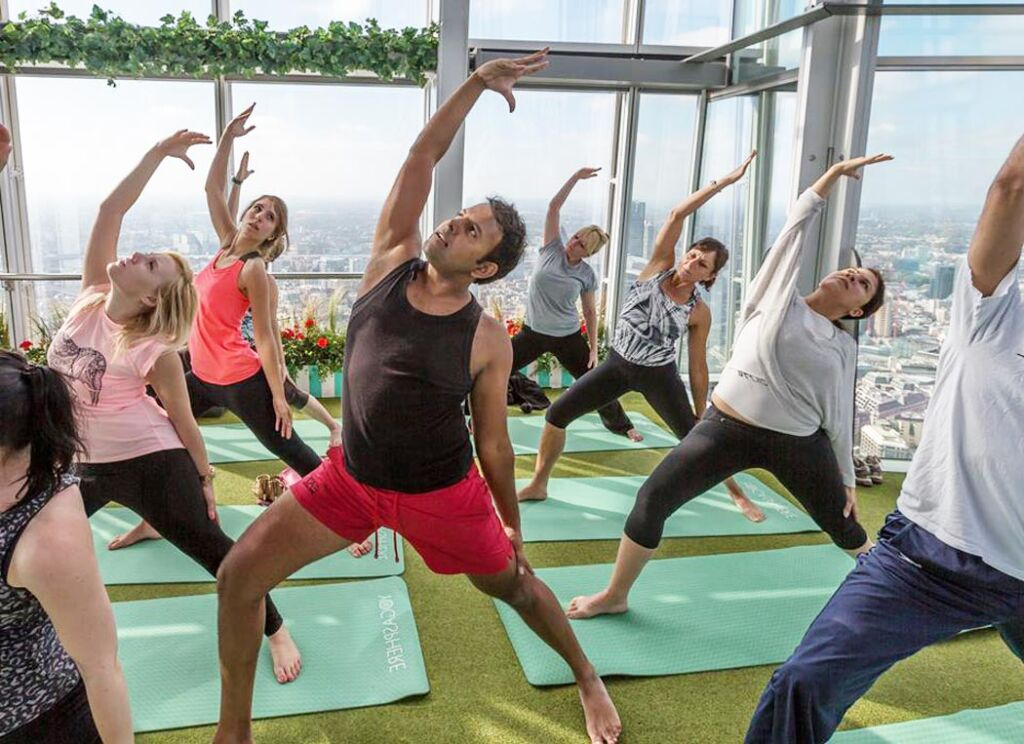Yogasphere at the Shard in London