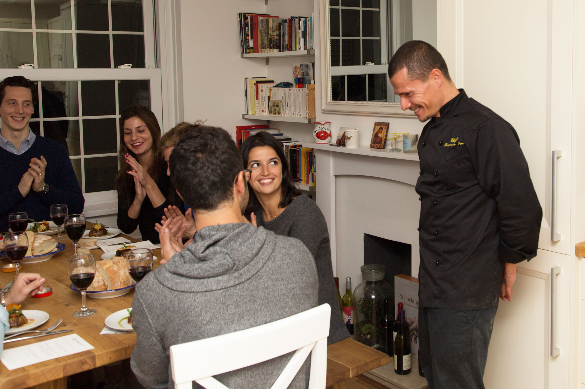 Reena Patel throws a private dinner party with La Belle Assiette