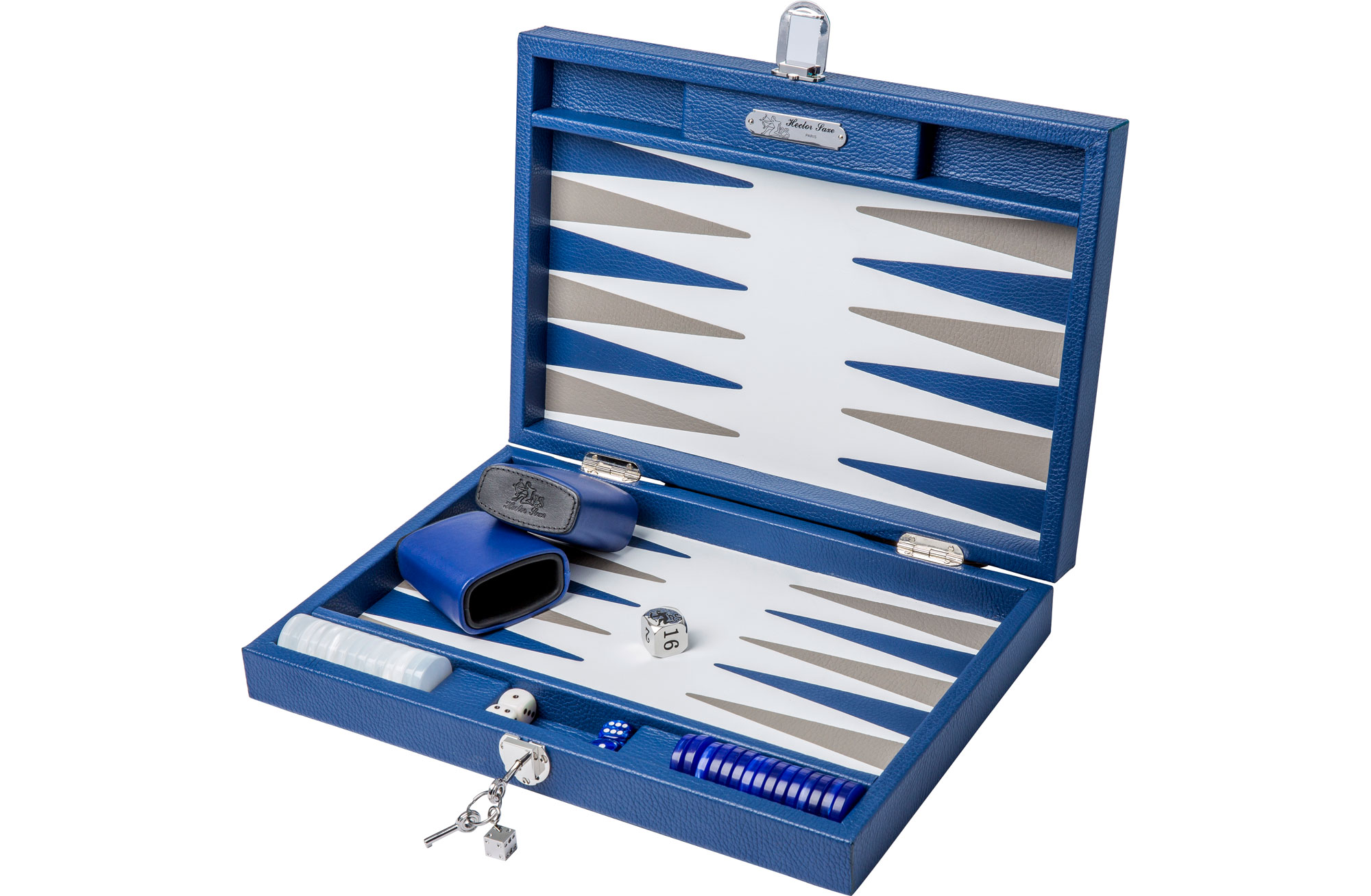 Backgammon Set by Hector Saxe