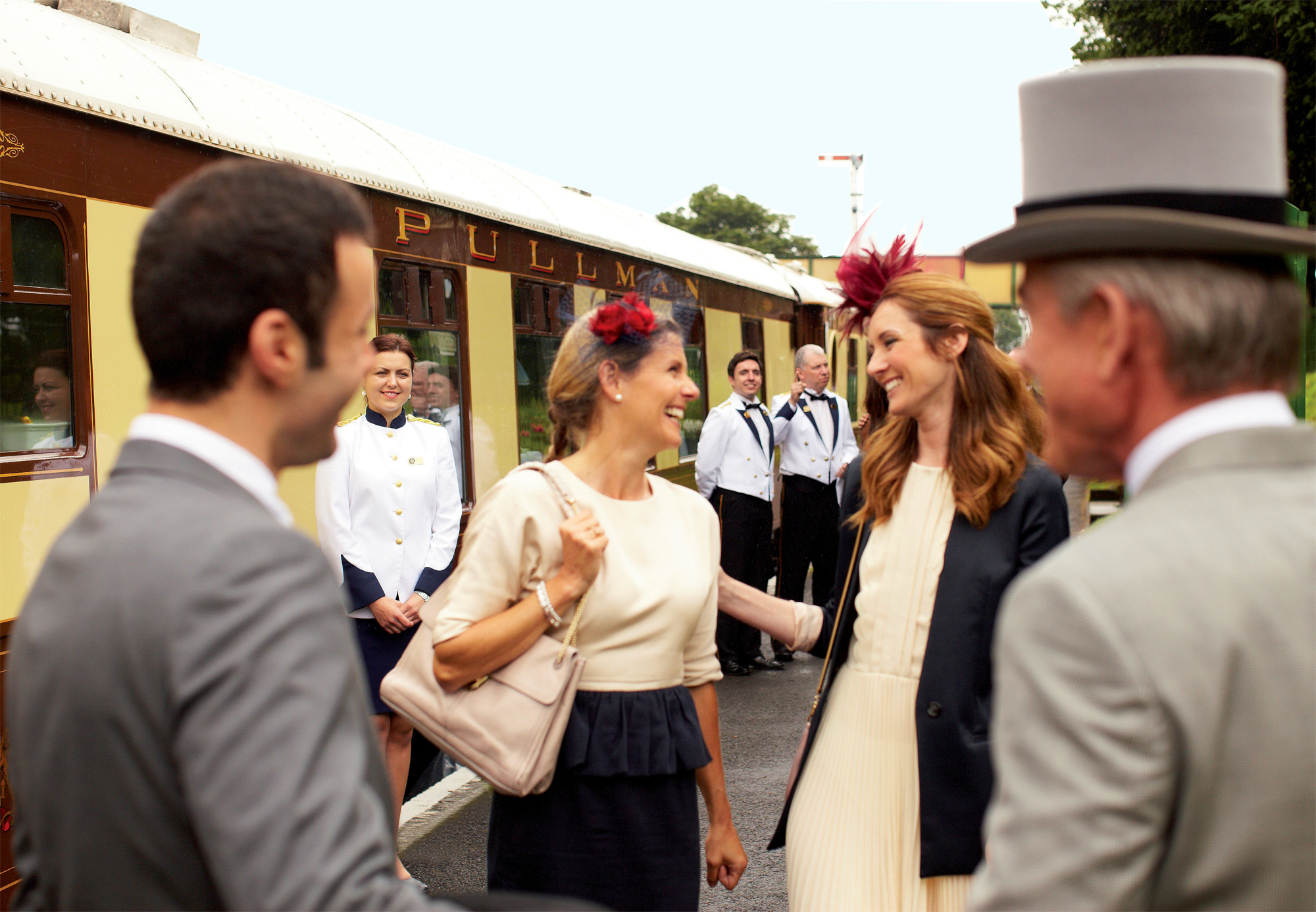 All aboard for a First-Class time at the RHS Chelsea Flower Show