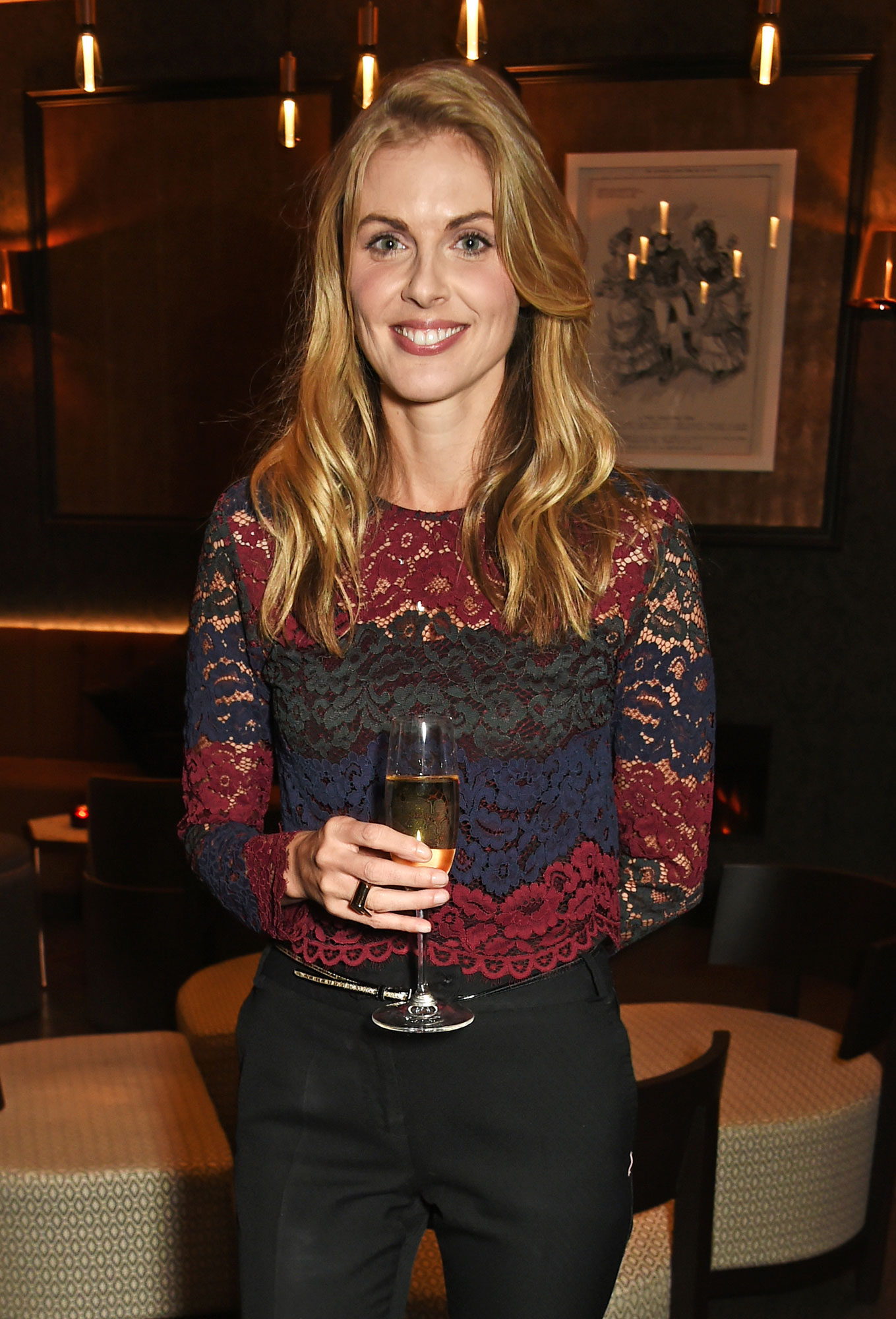Donna Air at the launch Of M Victoria Street