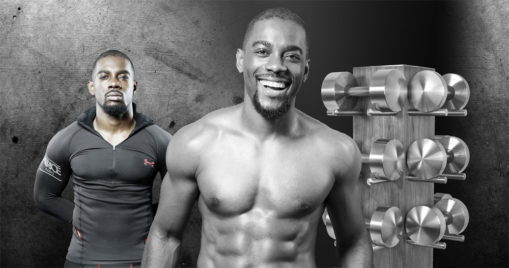 Fabrice Le Physique, owner of www.munsterfit.com and one of Europe's best personal trainers