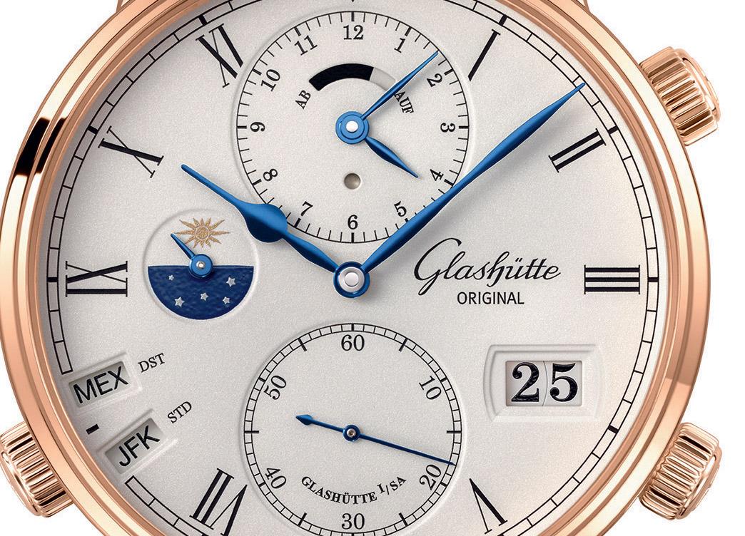 Glashutte Original Senator Cosmopolite – All 37 time zones in one watch