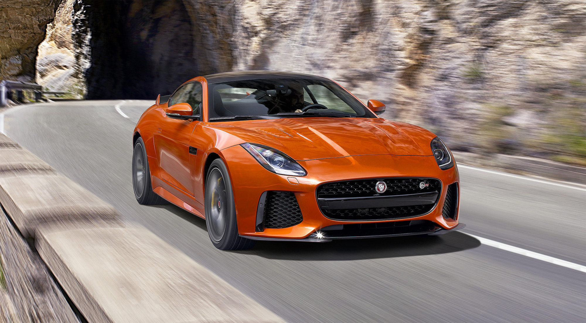 The F-Type SVR – Jaguar's All-Weather Supercar