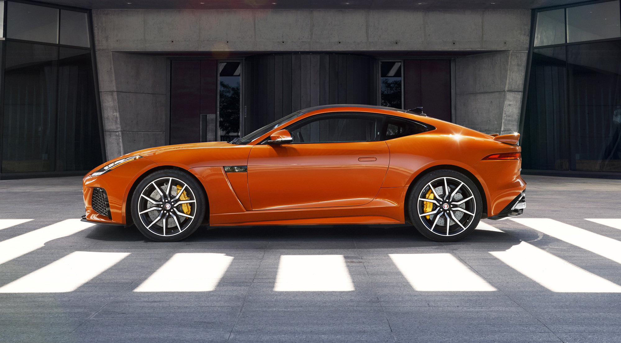 F Type Coupe >> The F-Type SVR – Jaguar's All-Weather Supercar - Luxurious ...