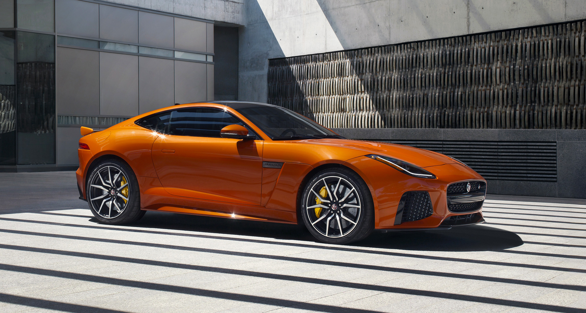 The F Type Svr Jaguars All Weather Supercar on yamaha drive