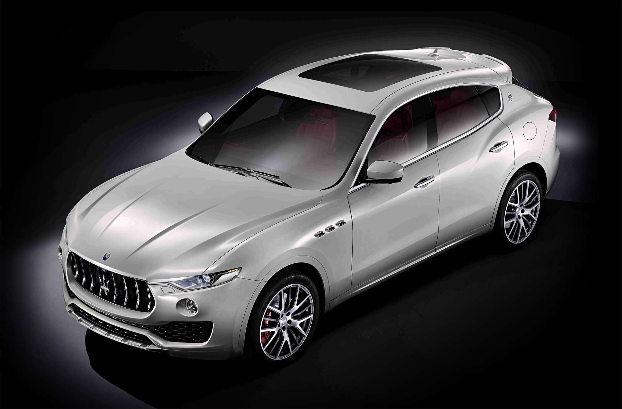 Maserati Raises Their Haunches With The Levante SUV