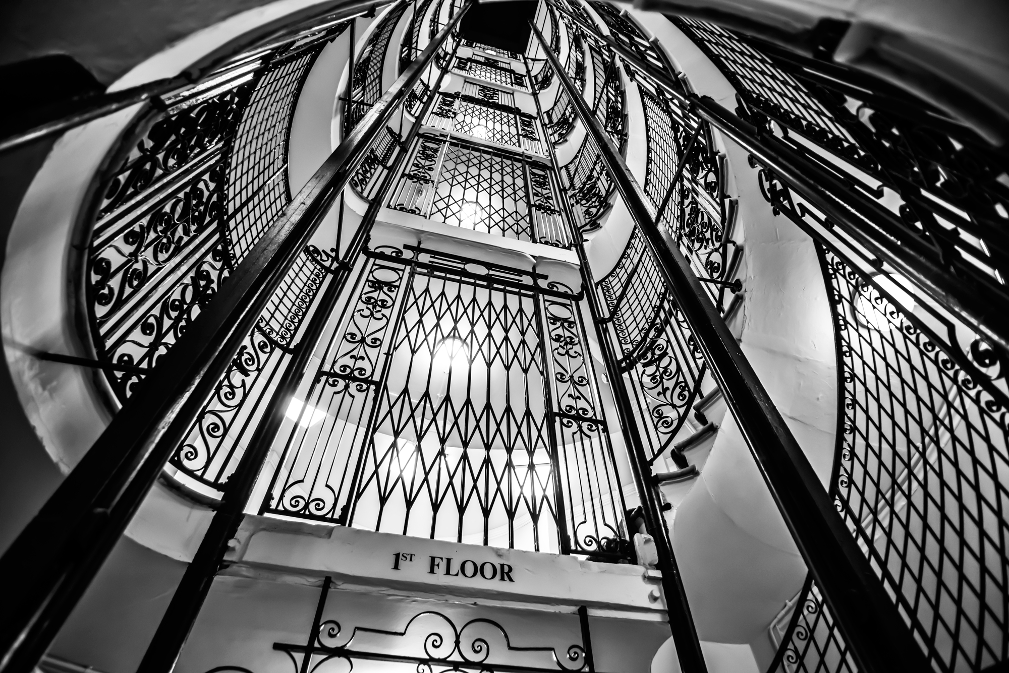 Paul Ward Captures The Grandeur Of Cunard's Iconic Offices