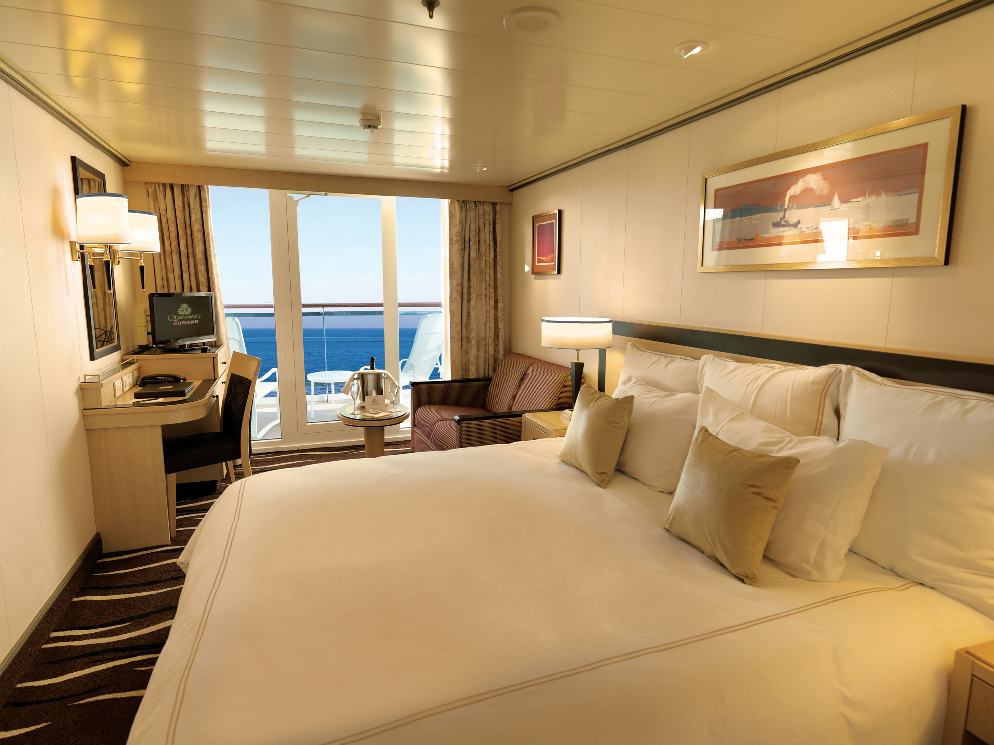 High fashion on the high seas as cunard launches for Deluxe balcony