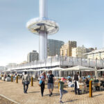 The British Airways i360 Prepares For Take-off 6