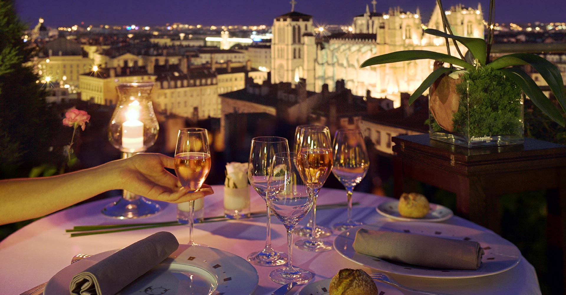 Restaurant Hotel De Fourviere Lyon