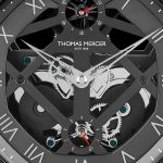 The Thomas Mercer Brittanica Black Table Chronometer 3