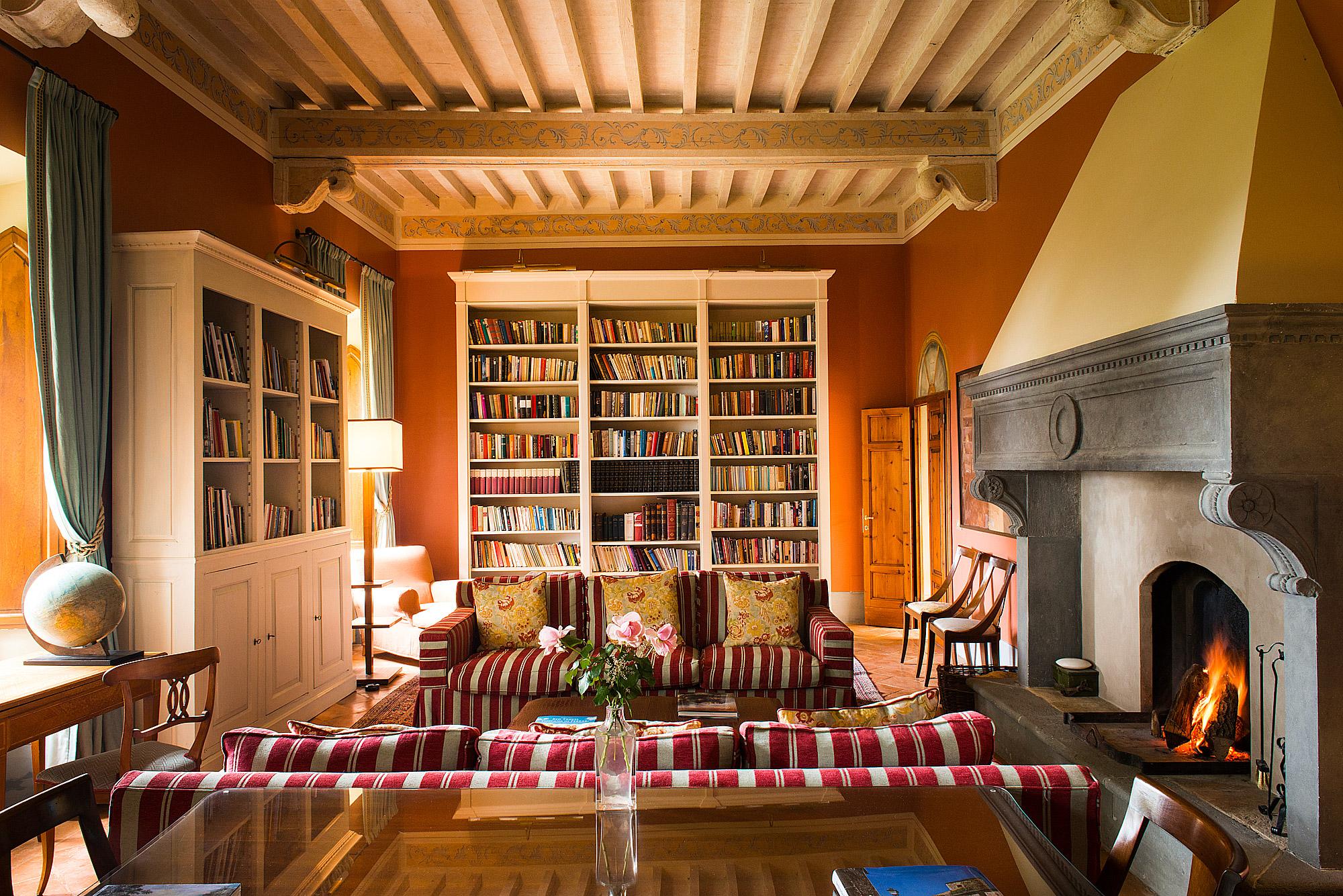 The Borgo Pignano library