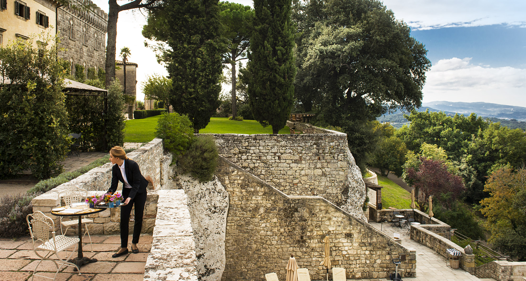Far from the madding crowd, Borgo Pignano is a gem of a country house without the noise, the crowds and the pollution