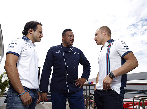 Glamour on a plate for Formula One foodies 10