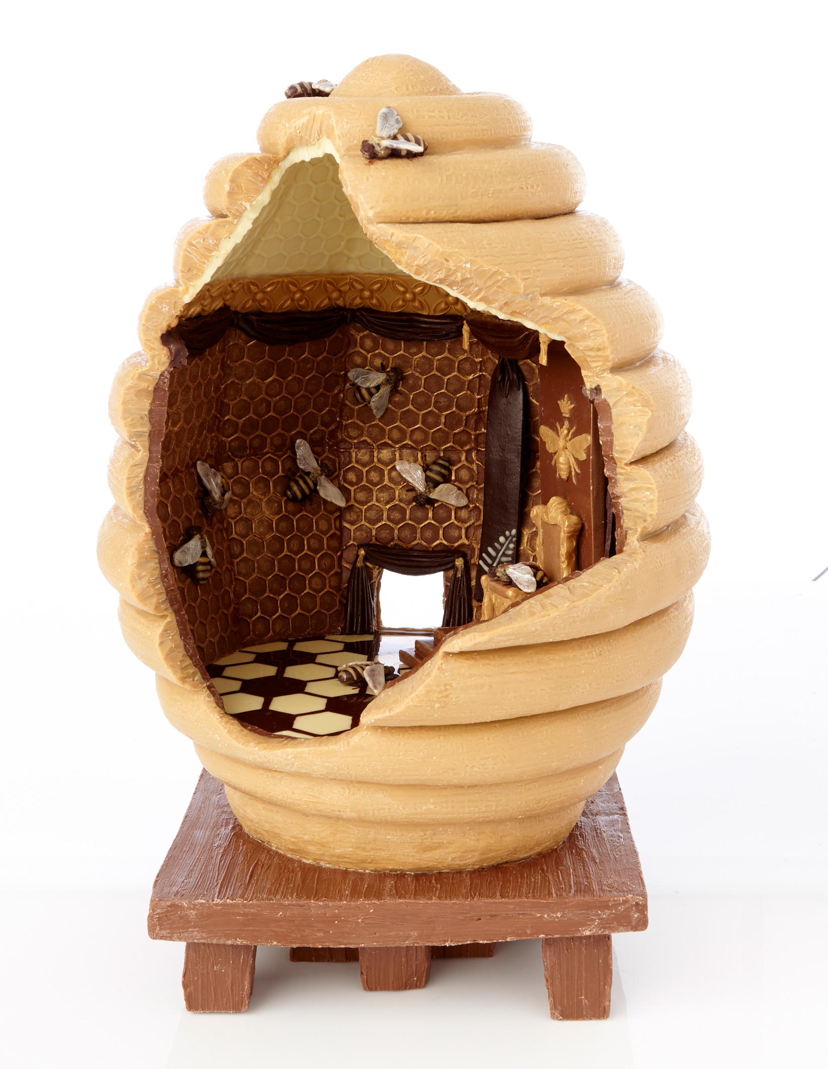 Chocolate Beehive Sculpture