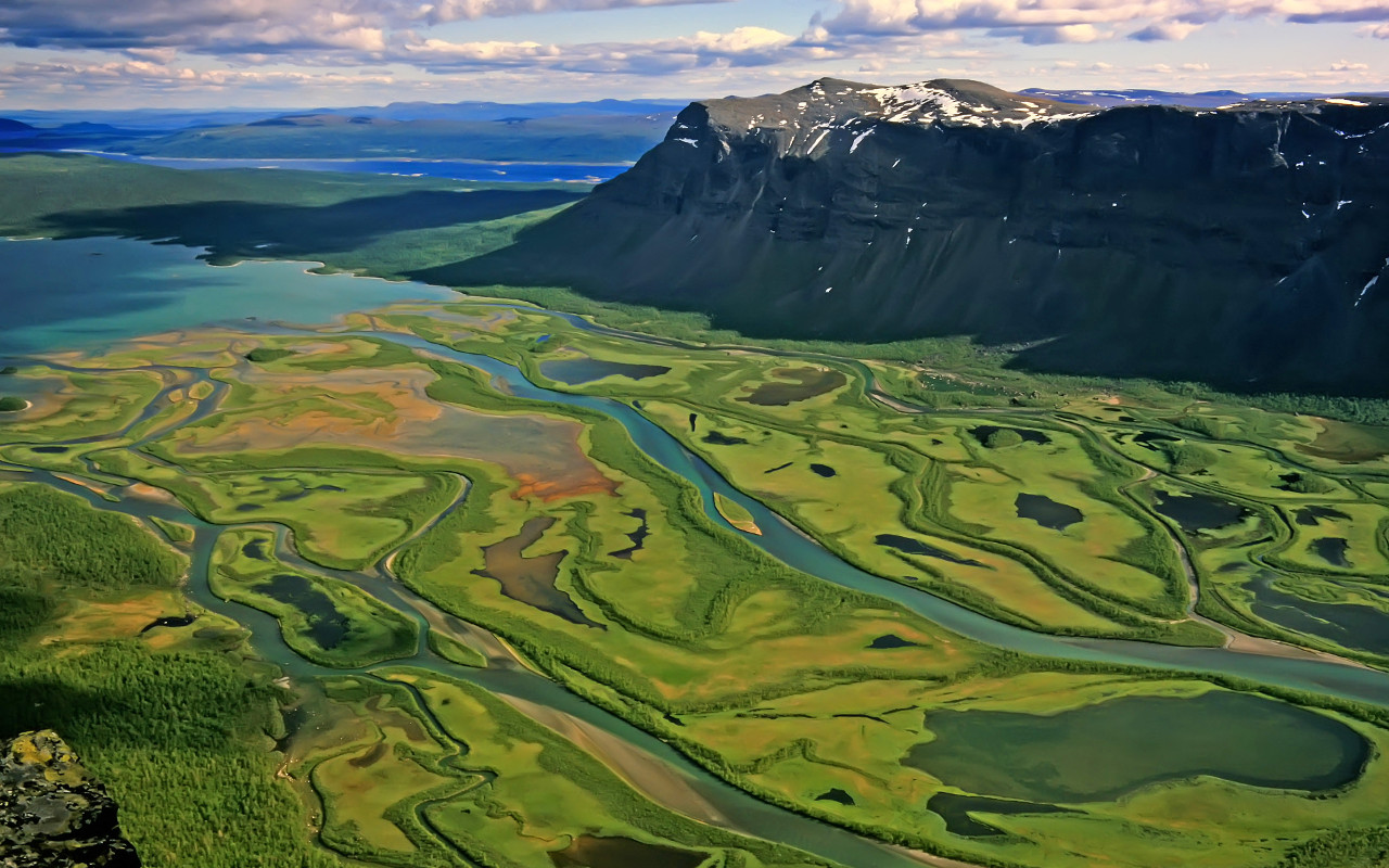 Sweden's Sarek National Park