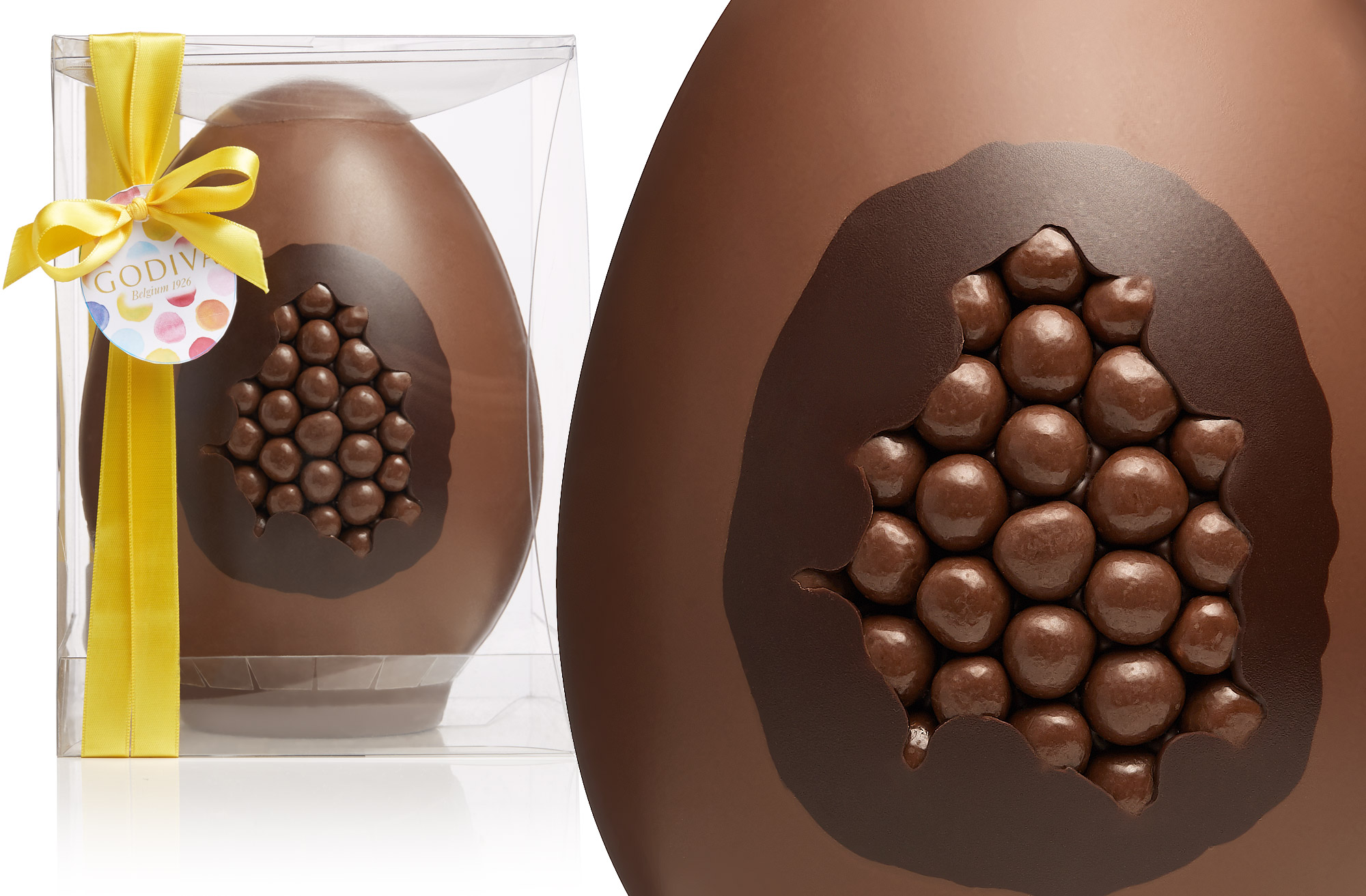 Godiva chocolates introduces a giant sized wow for easter for Go diva