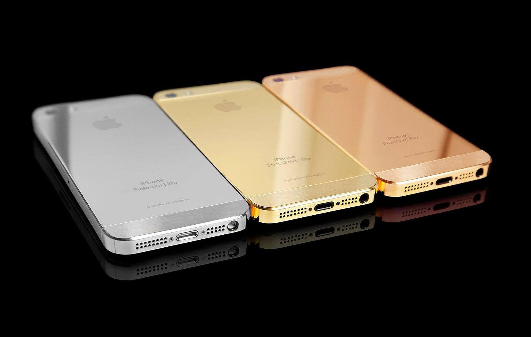 Goldgenie Move To The Front Of The Queue With Gold & Platinum iPhone SE