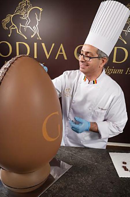 Godiva's Chef Chocolatier, Jean Apostolou