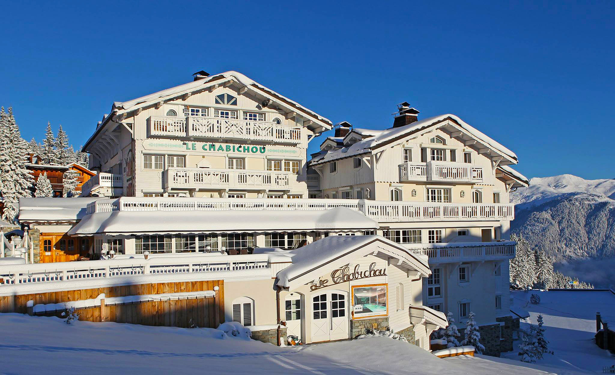 Five-star mountain resort luxury at Le Chabichou Hôtel, Courchevel, France