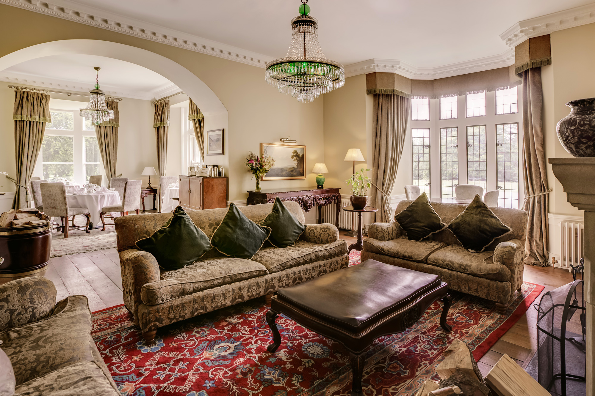 One of the best ways of absorbing all that Lough Eske Castle has to offer is by sinking into a deep armchair