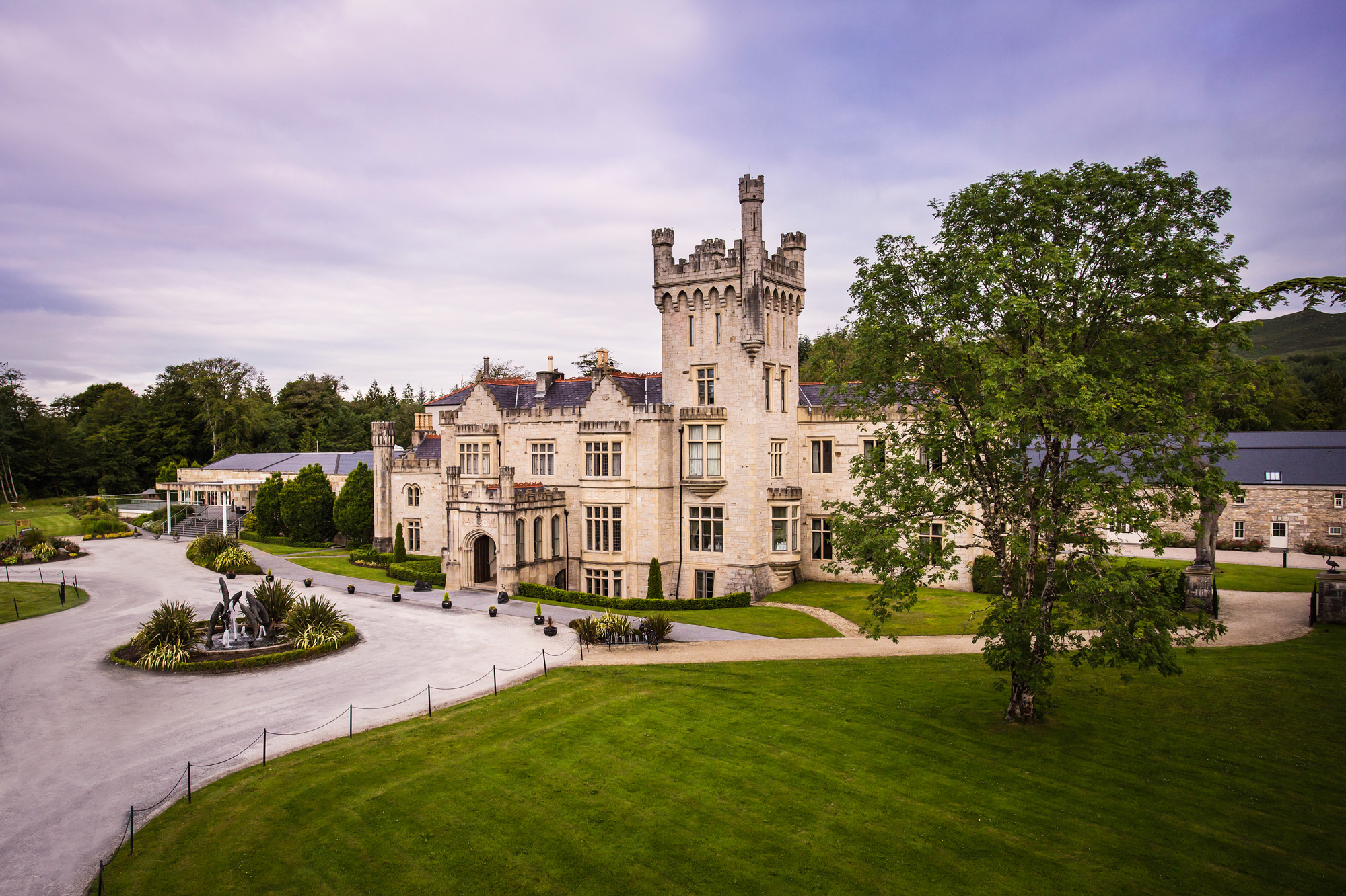 Feel Like Royalty At Ireland's Lough Eske Castle