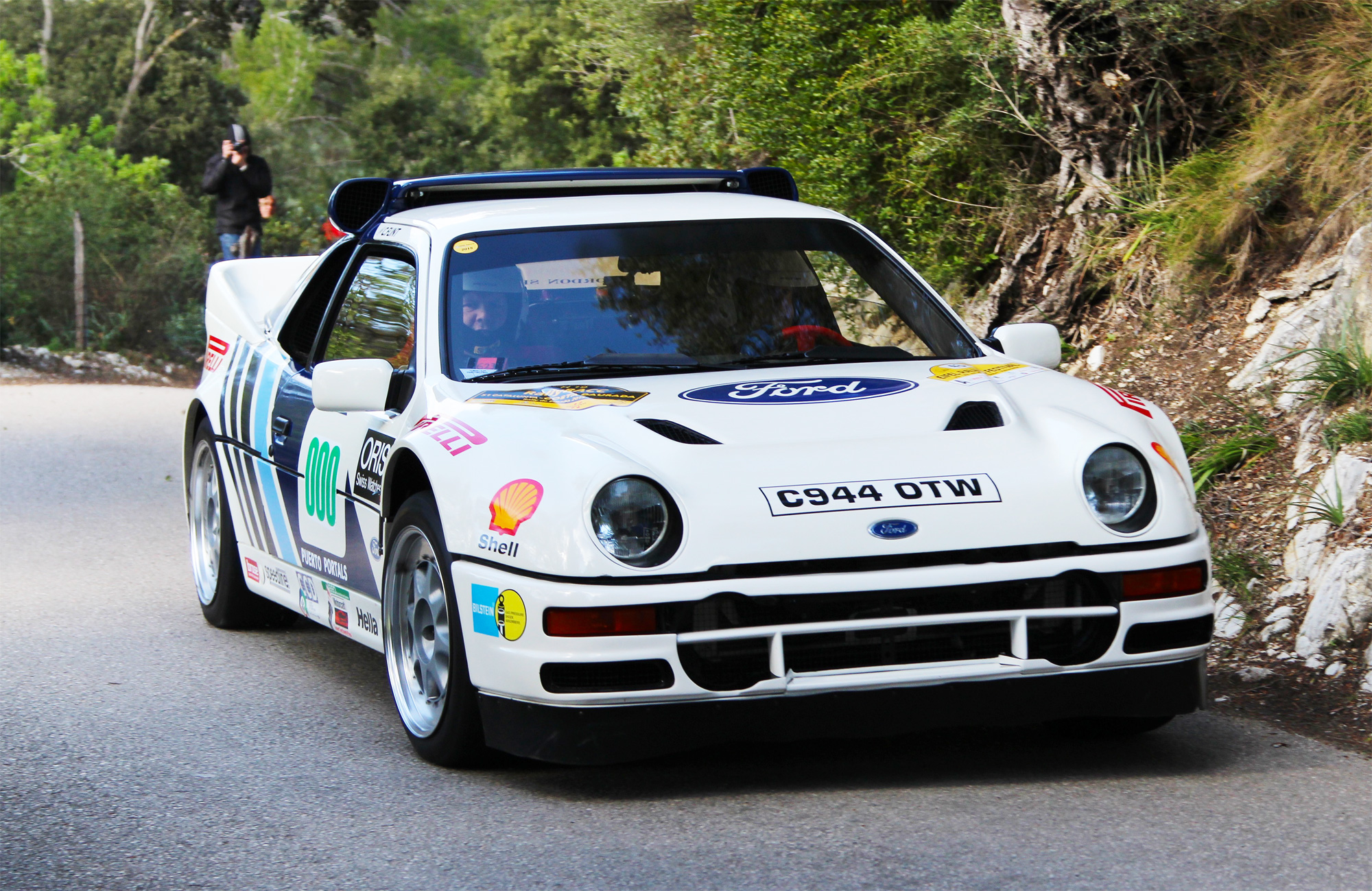 Ford RS200 at the Oris Rally Clásico