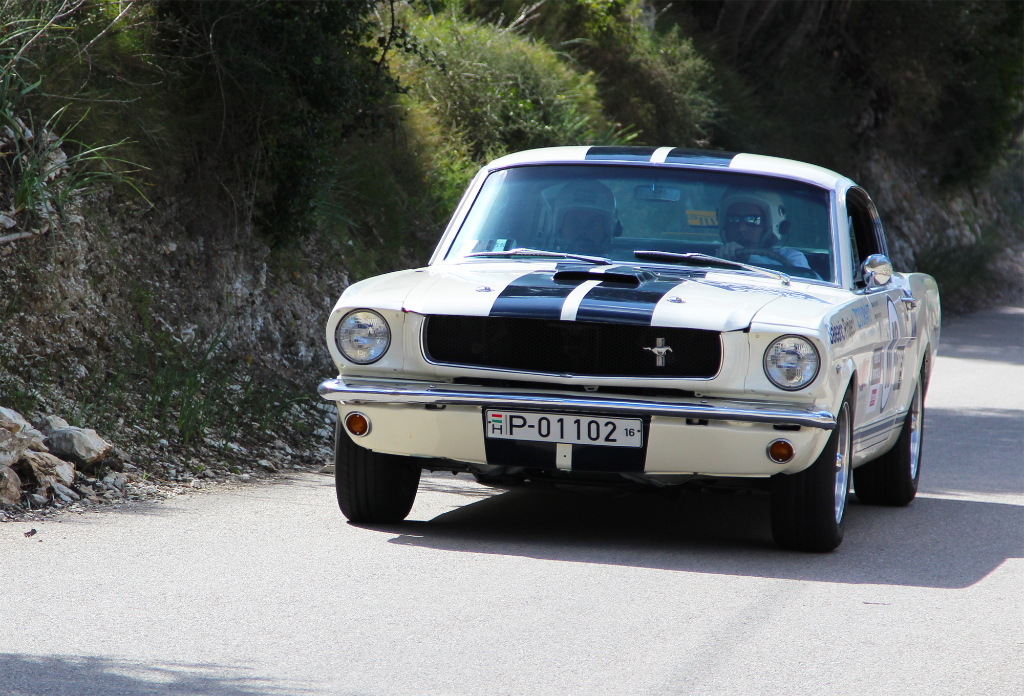 Ford Mustang at the Oris Rally Clásico