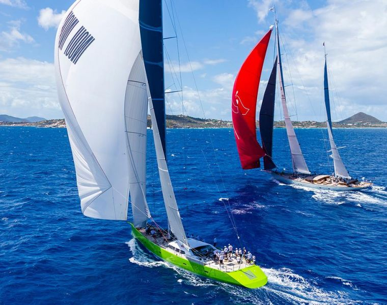 Yachts from the drawing board of Philippe Briand secure a number of podium places in performance classes at Caribbean Superyacht Regatta 2016