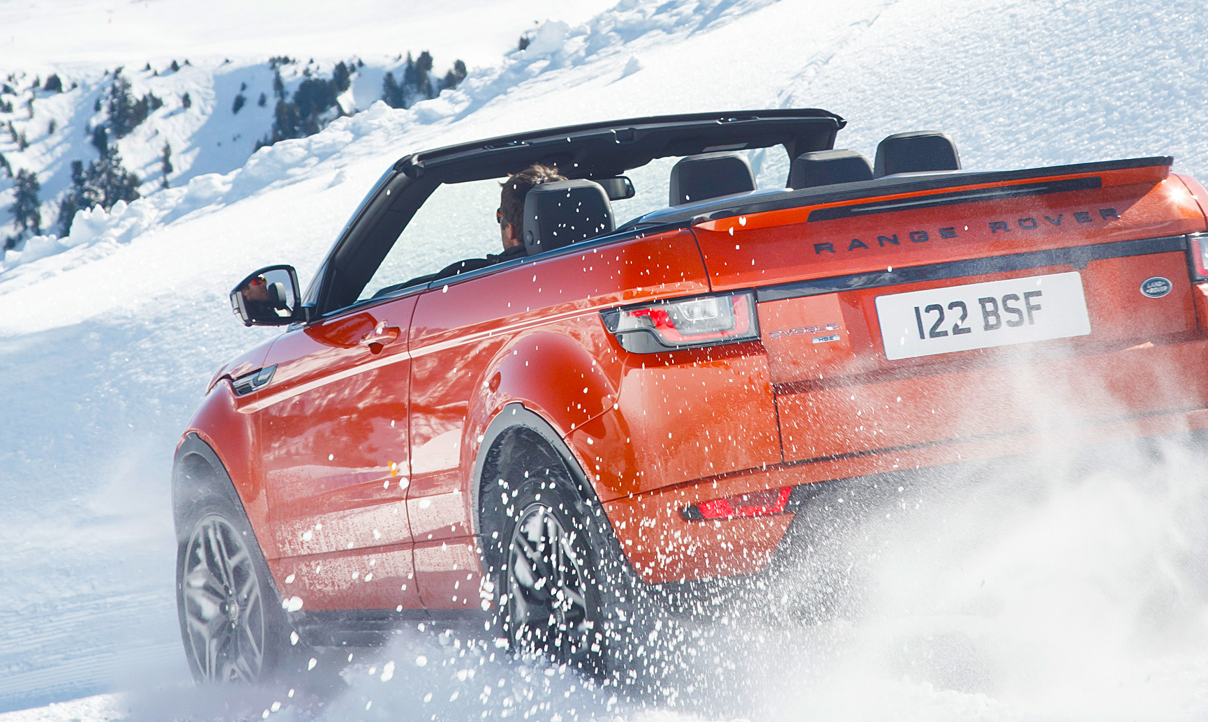 How Well Does The Range Rover Evoque Convertible Perform at 5,732 ft?