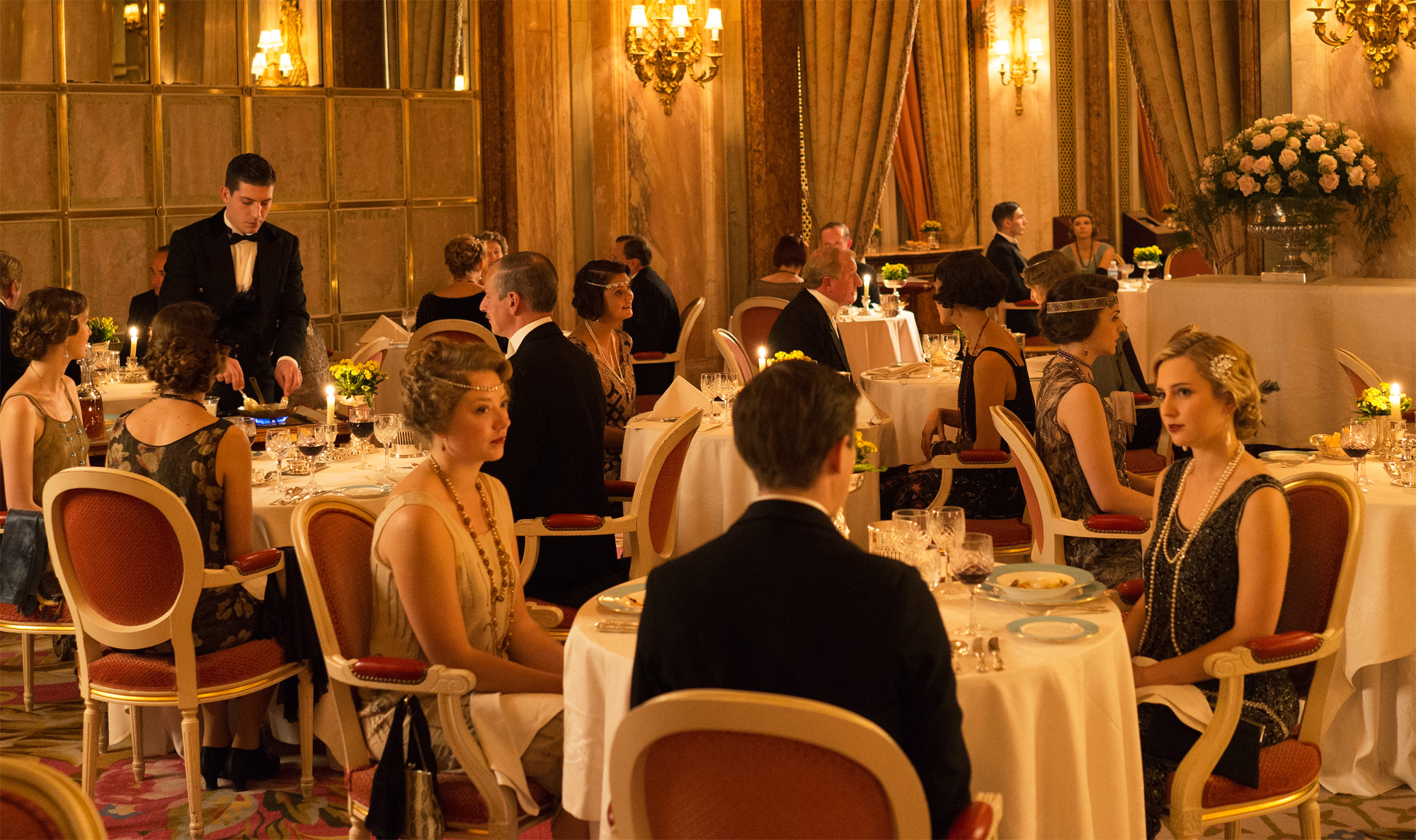 downton abbey's putting on the ritz for the privileged few
