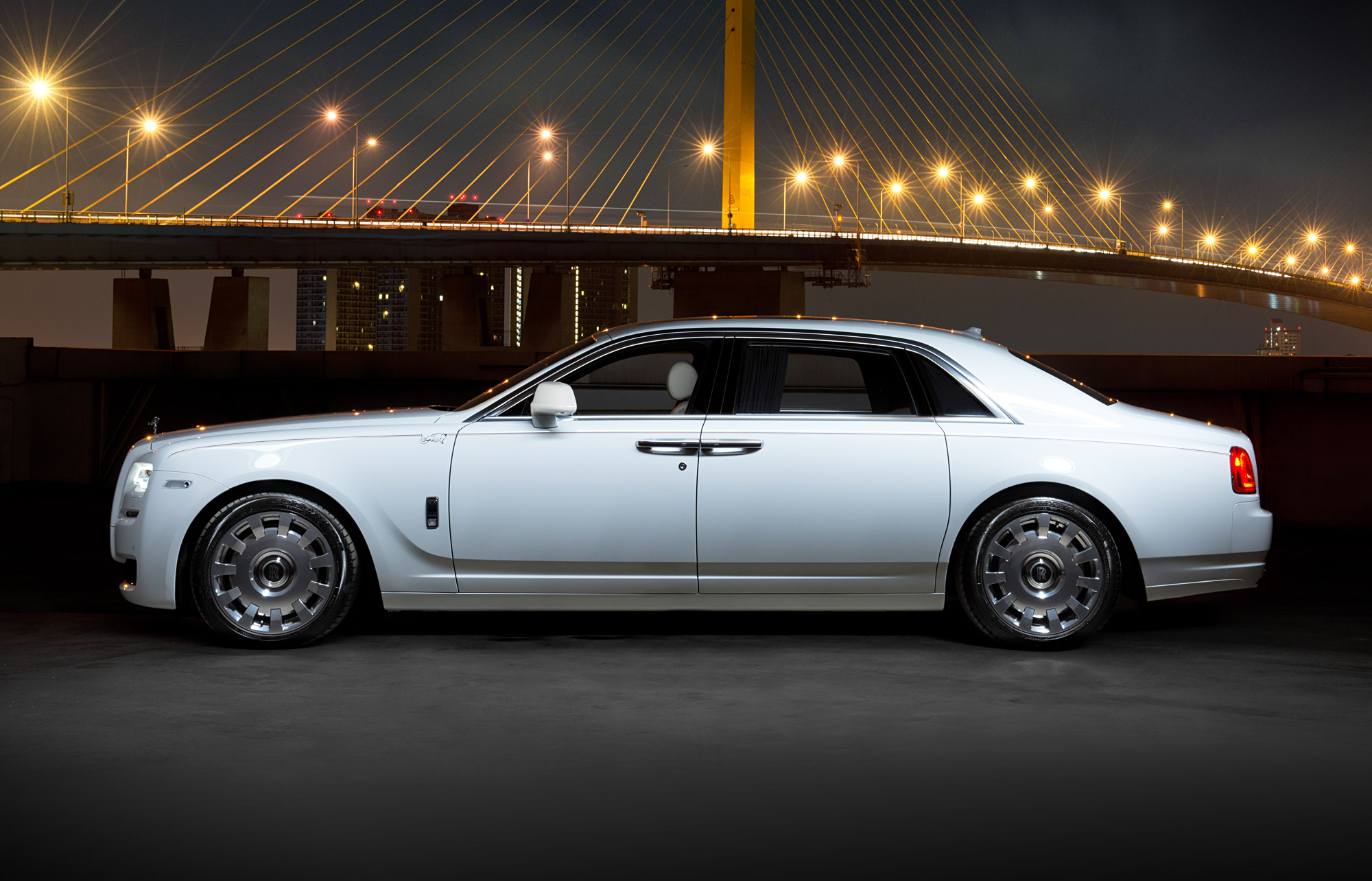 Rolls-Royce KoChaMongKol Extended Wheelbase Ghost Debuts In Thailand