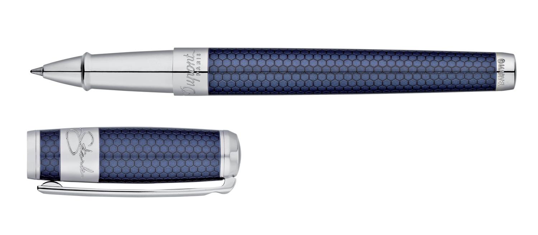 S.T. Dupont Tony Stark Line D Rollerball Pen in Blue