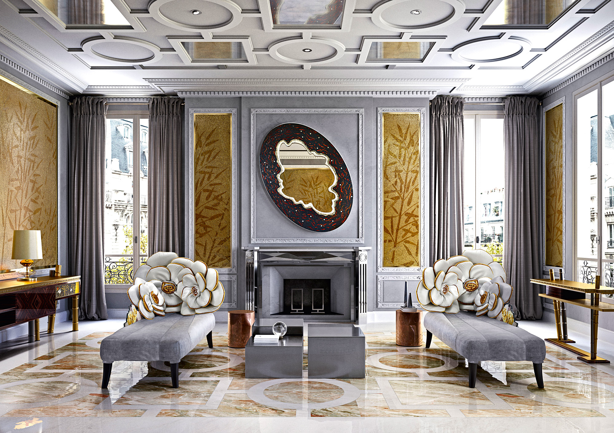 Sicis opens luxury showroom in dover street mayfair for Modern furniture stores london