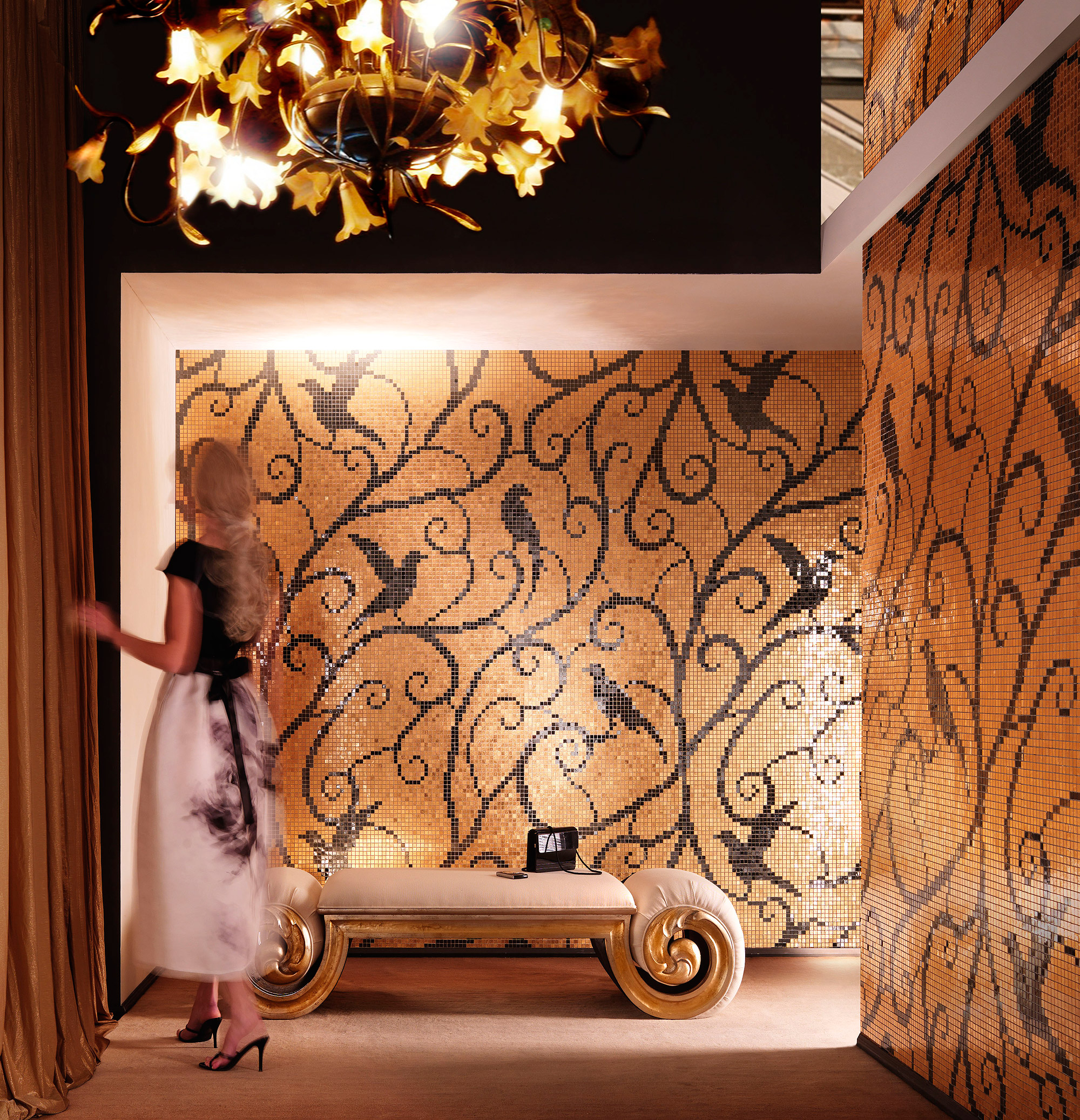 The interior will reflect the eclectic style of SICIS