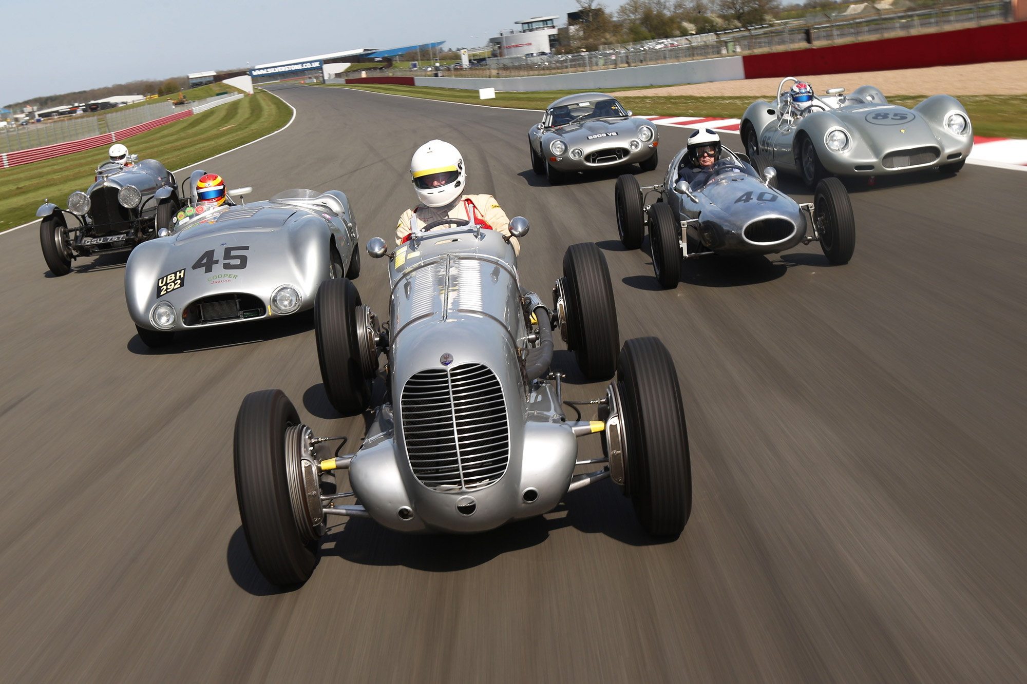 Silverstone Classic – The Largest Festival Of Classic Cars In The World