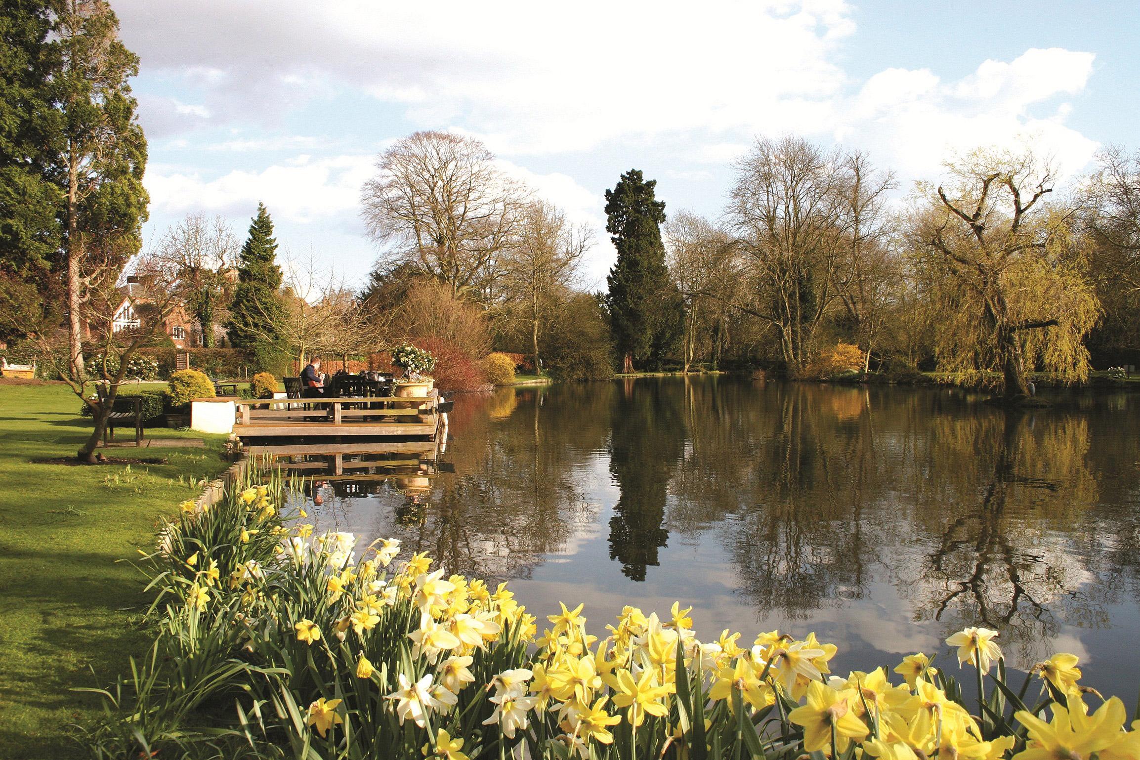 St Michael's Manor lake