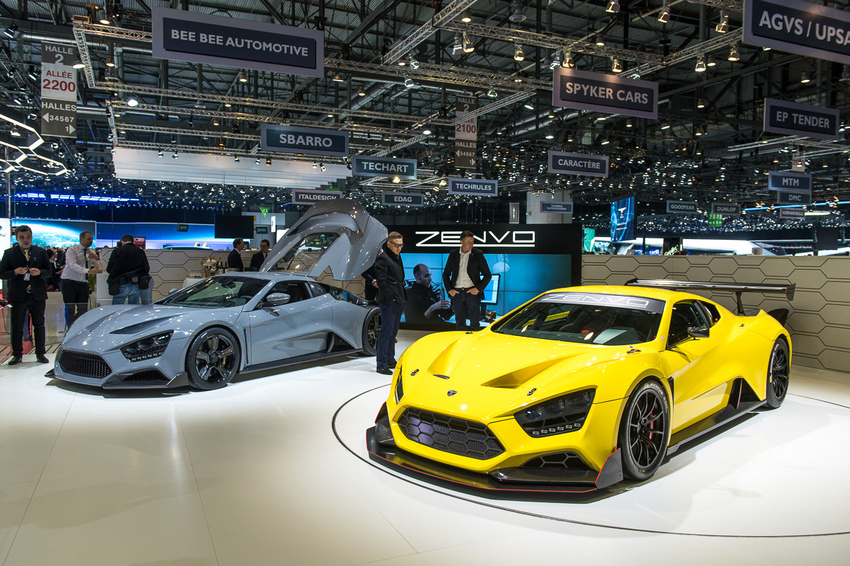 There's A New Hypercar On The Block And It's Called Zenvo TS1