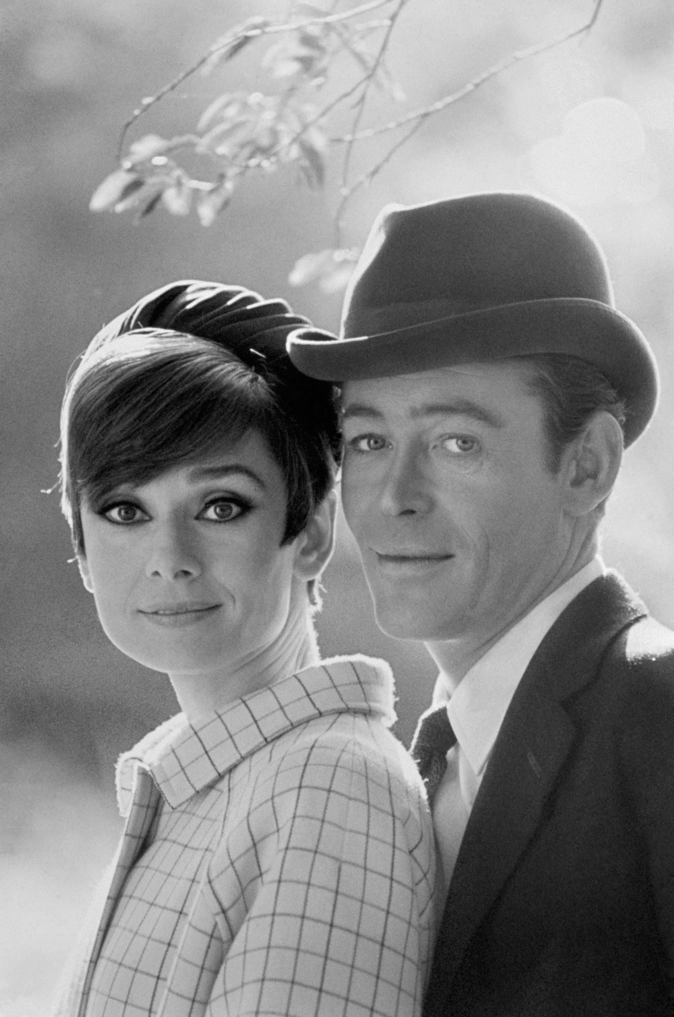 Peter O'Toole and Audrey Hepburn by Terry O'Neil