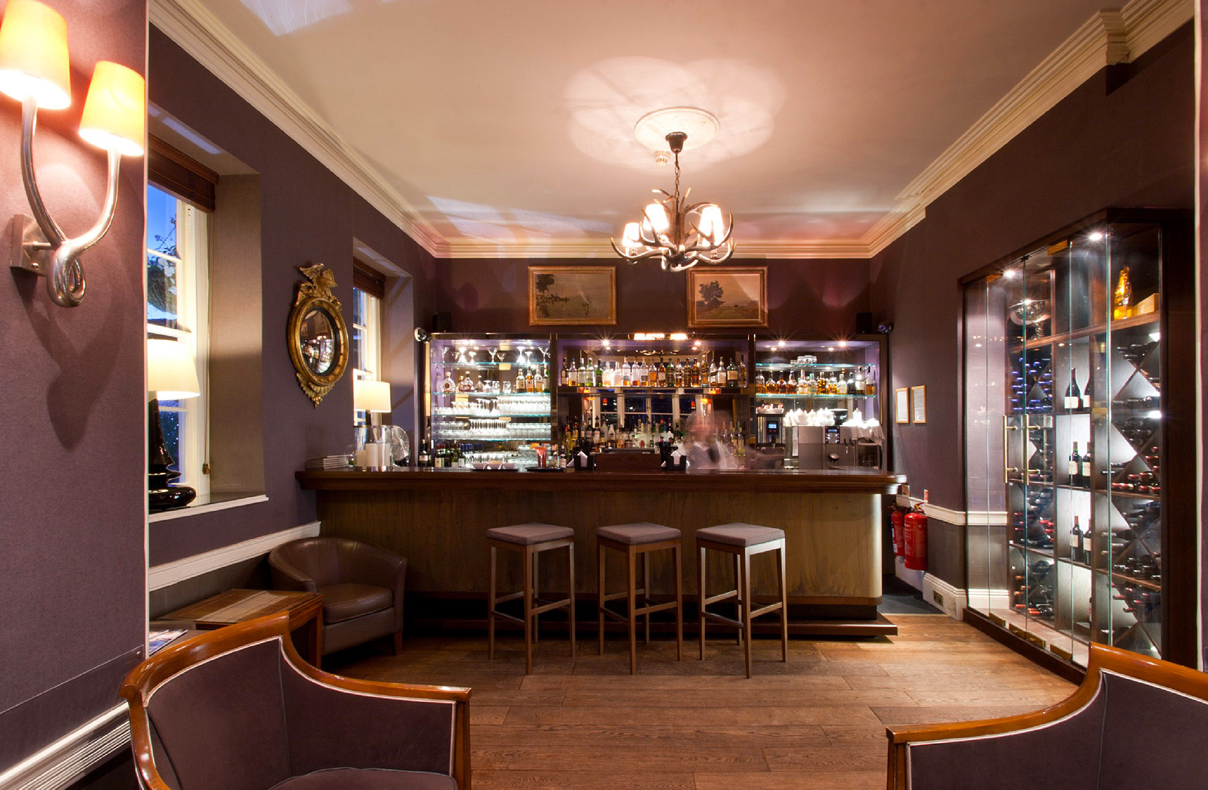 The bar at St Michael's Manor