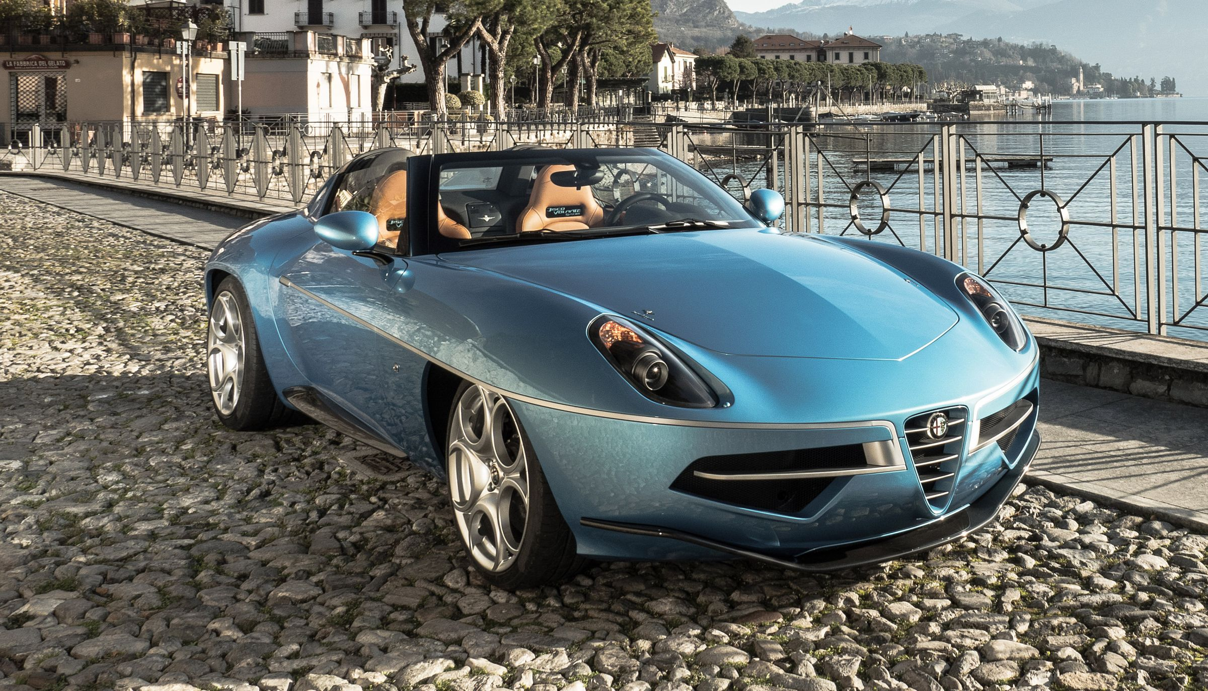 Disco Volante Spyder is somewhat of a bargain for what must be the closest thing to visual perfection in the automotive world